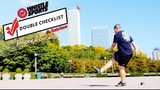 Sick Kick Trick Shots In Chicago With Brian Jackson!