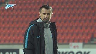 «Зенит-ТВ»: открытая тренировка перед матчем со «Славией»