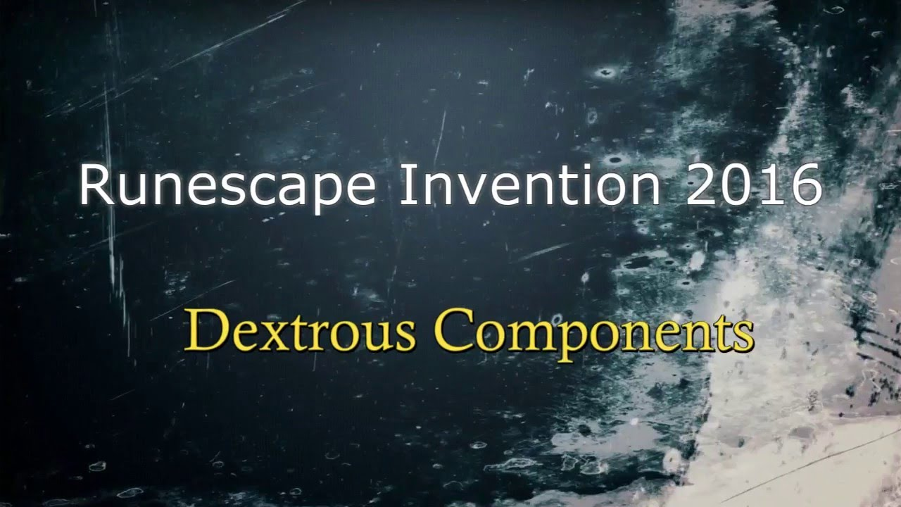 how to get dextrous components