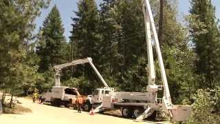 PG&E Tree Crews Work to Prevent Power Outages and Wild Land Fires