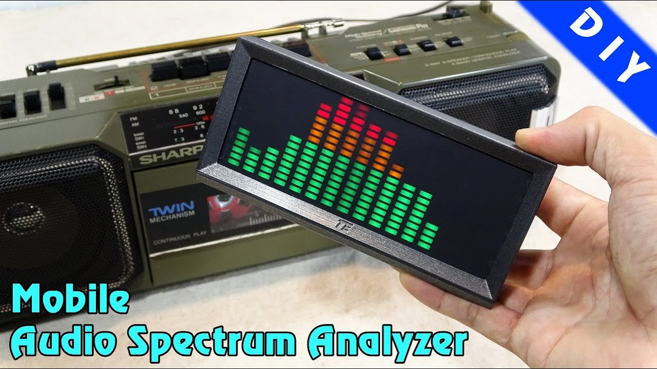 Making a Mobile Audio Spectrum Analyzer
