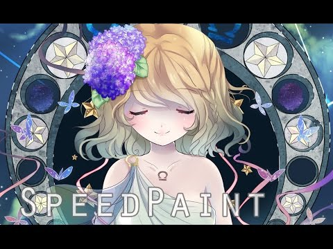 Libra [Zodiacal Constellations]  SpeedPaint