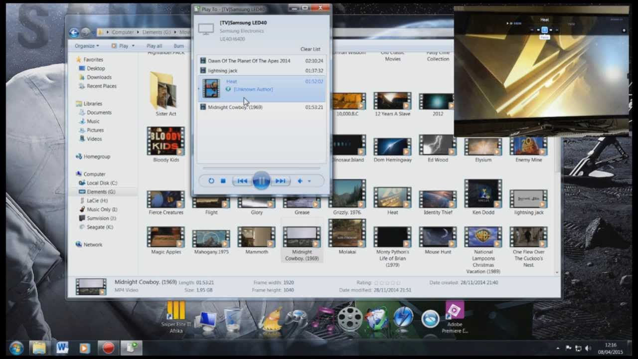 Stream Movies From Your PC To Your TV The Easy Way