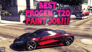 Best Rare Progen T20 Paint Job!!!!!