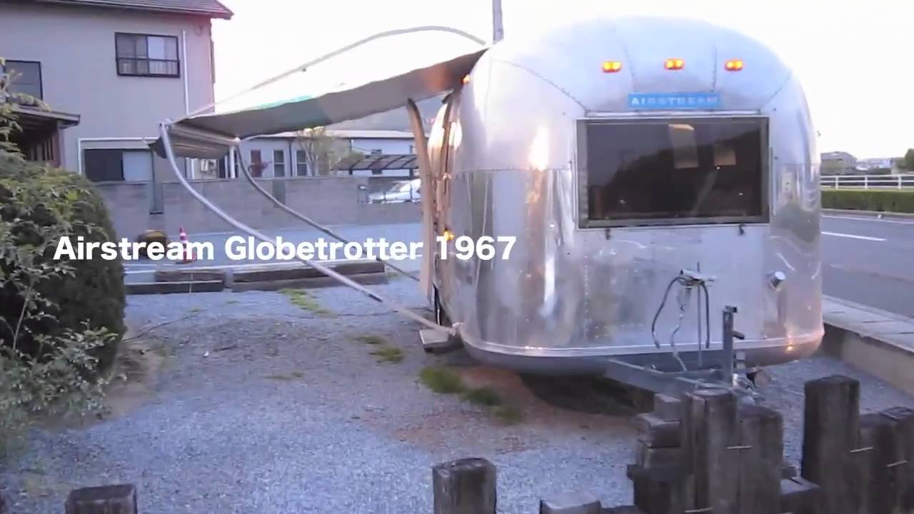 Vintage Airstream Awning エアストリーム Travel Trailers Youtube