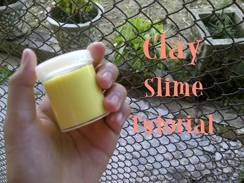 Cara Membuat Clay Slime - How To Make Clay Slime || KL12