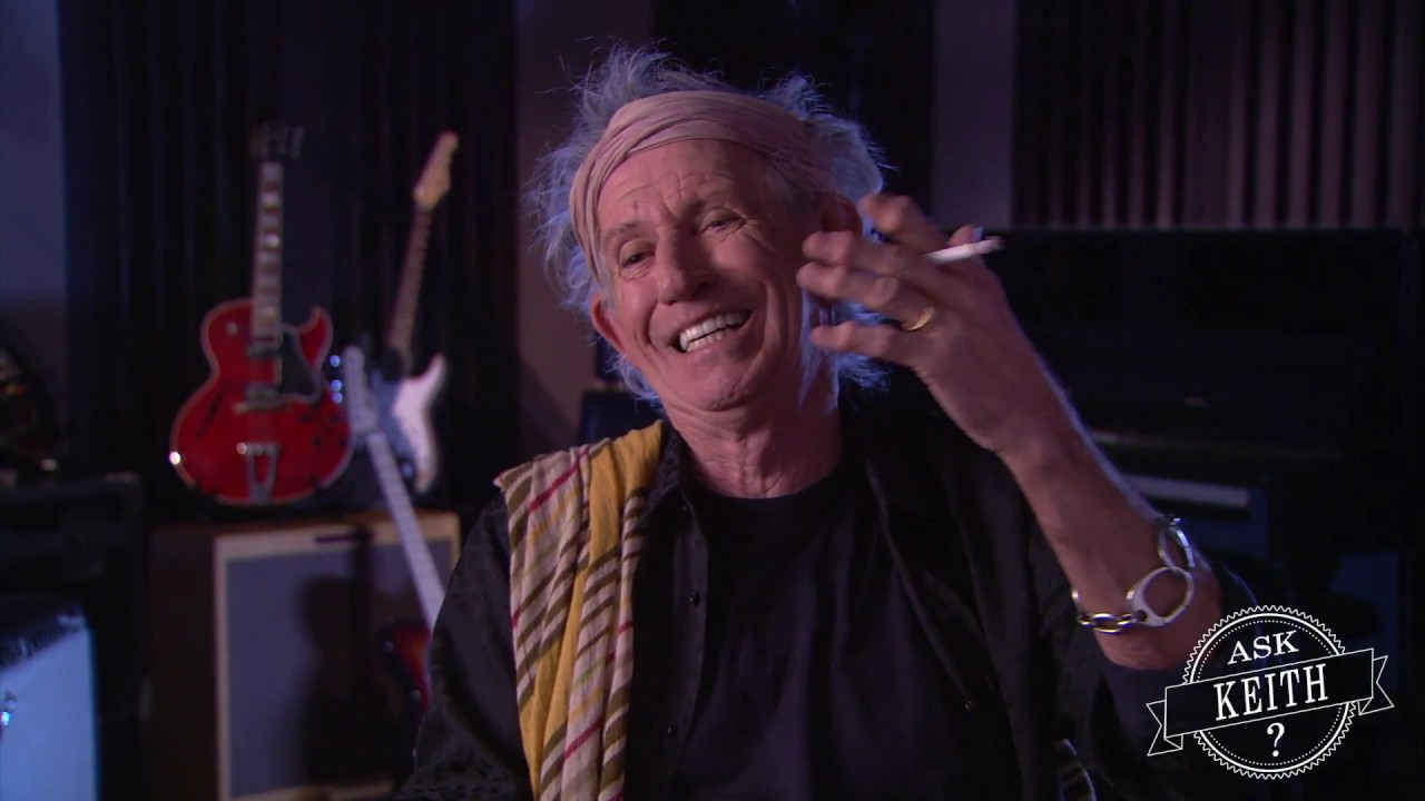 Keith Richards guitariste des Rolling Stones et témoin d'OVNI