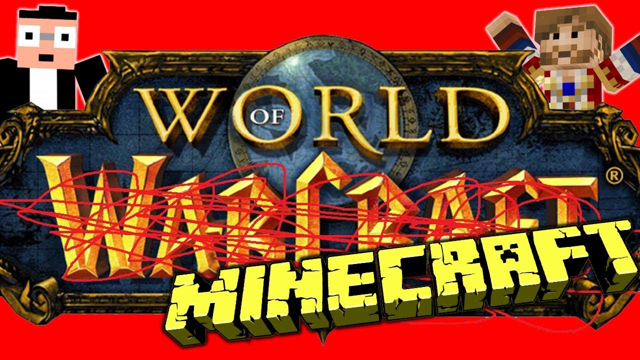 World of Warcraft dans Minecraft Fanta Bob Show n 34 – Map World of Warcraft Minecraft