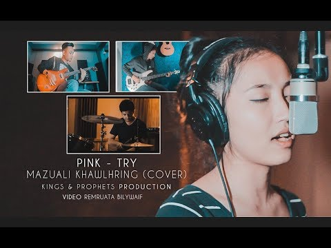 Try - Pink | Mazuali Khawlhring Cover