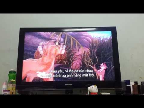 Vua sư tử 2 niềm tự hào của Simba (trích)😱😱😱