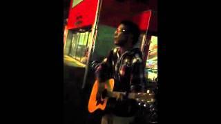 先輩が キマグレンのLIFEを路上ライブで歌って見たのをupしました!コ...