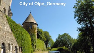 Olpe, a district city in Germany's Sauerland