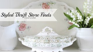 Styled Thrift Store Finds | March Edition