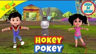 Hokey Pokey | New year's special | Hindi Songs for Children | Vir | Wow Kidz