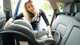 How to install a ISOFIX car seat