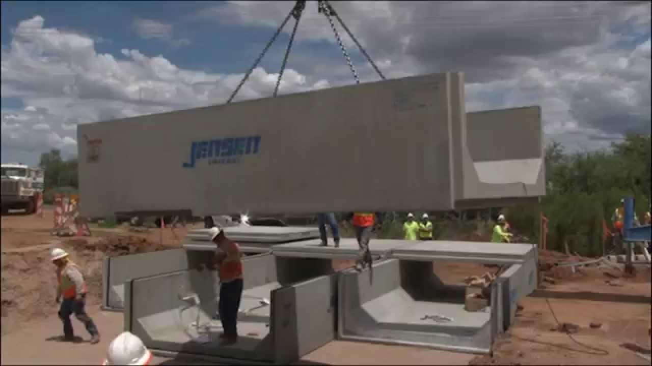Precast Concrete Segmental Box Culvert Design Youtube