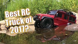 WOW! This RC Trail Truck Is A Beast! - Traxxas TRX-4 Action and Review | RC Driver