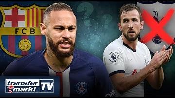 Neymar will Barça-Rückkehr erzwingen – Kane erwägt Tottenham-Abgang im Sommer | TRANSFERMARKT