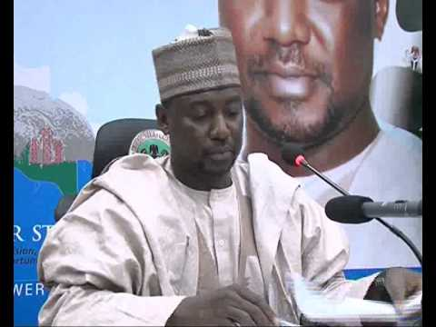 Niger State Governor  Broadcast message