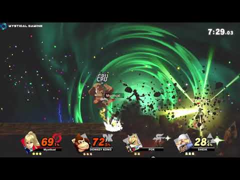 Super Smash Bros Ultimate - Stock Battle (Zero Suit Samus) (Switch) thumbnail