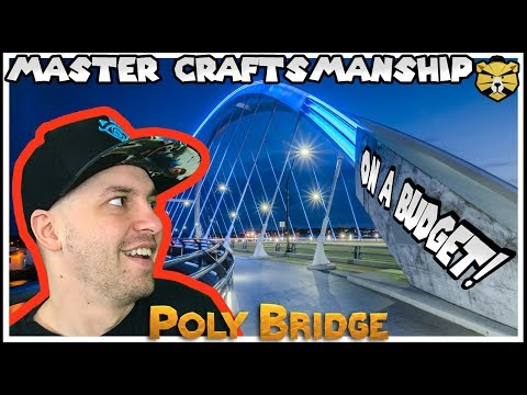 This Is One Of The BEST Bridges Ive EVER Built PolyBridge