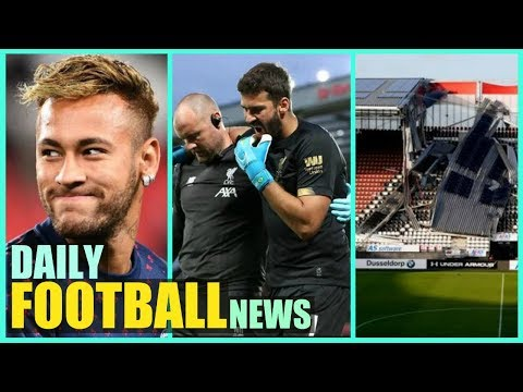 Neymar to Join Real Madrid? | AZ Alkmaar Stadium Collapses | Plus More | Premier League News Today