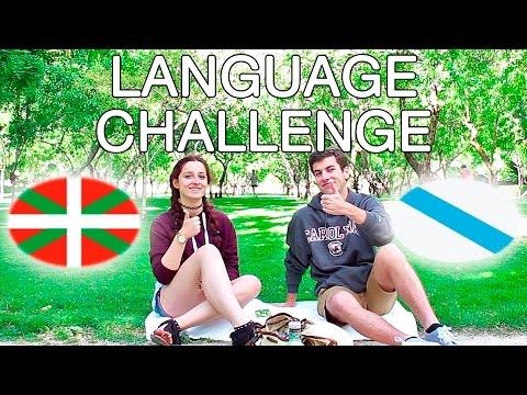 GALEGO VS EUSKERA | Reto de los idiomas (español con subtítulos)