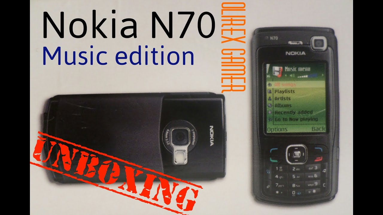 Unboxing  Nokia N70 Music Edition