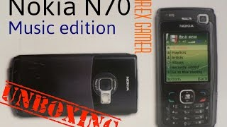Unboxing: Nokia N70 Music edition | test + opinion | Olirex Gamer #Like