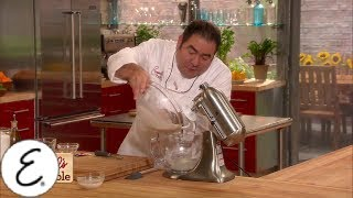How to Make Pizza Dough - Get Cooking, Guys! - Emeril Lagasse