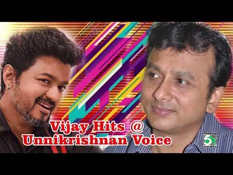Vijay With Unnikrishnan Super Hit Evergreen Audio Jukebox
