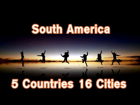 [Travel Video] 남미여행 South America - 5 Countries 16 Cities