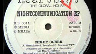 "NIGHTCOMMUNICATION ""NIGHT CLERK"""