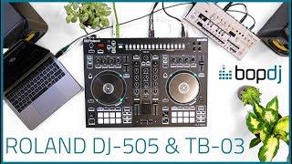 Roland DJ-505 Performance, Talk-Through & Tutorial | Bop DJ