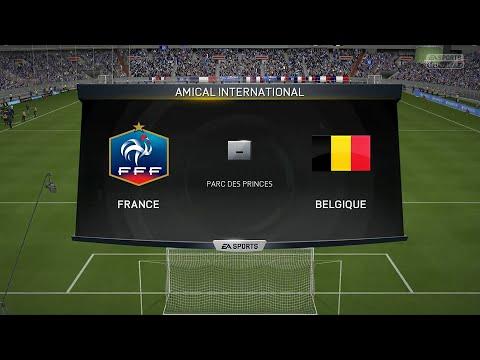 France - Belgique [FIFA 15] | Match Amical | CPU Vs. CPU