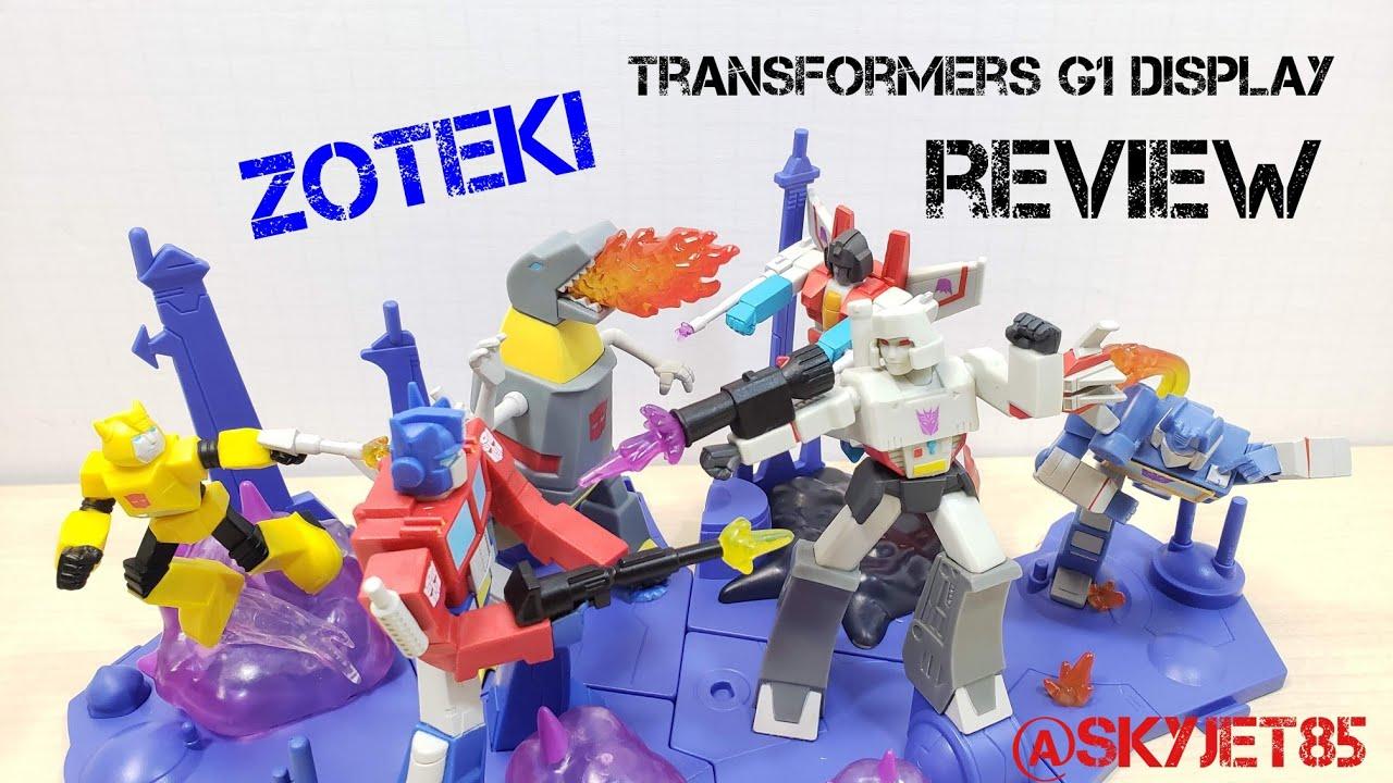Jazwares Transformers Zoteki G1 Figures and Display Review by SkyJet85