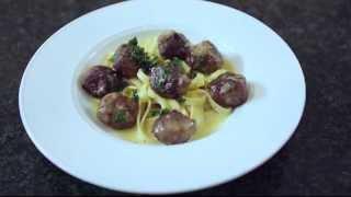 swedish meatballs by chef arimbi nimpuno