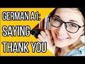 How to Say Thank You (Danke) in German  Deutsch Fr Euch Grundkurs 1