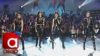 "Kathryn, Julia, Janella, Liza sing ""Bad Blood"" on ASAP"