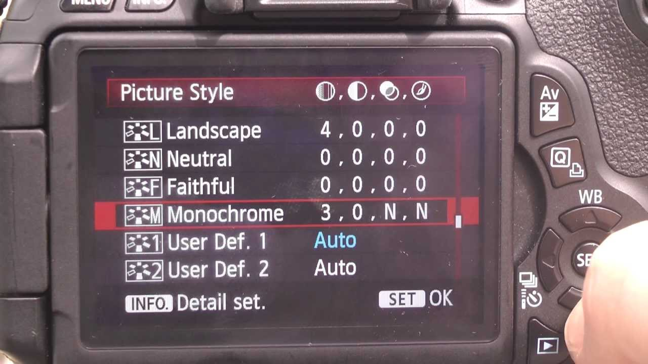 Canon 600d T3i Best Dslr Movie Settings