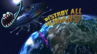Jerma Streams - Destroy All Humans! (Part 1)
