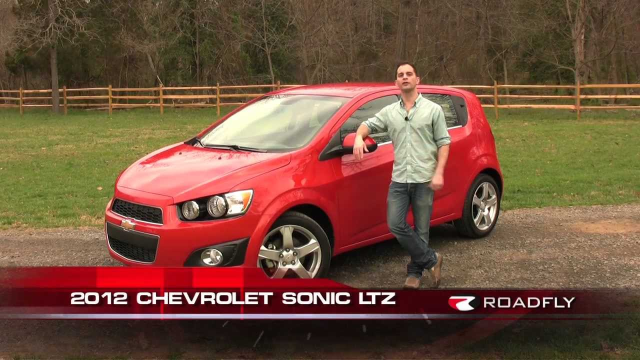 chevrolet sonic ltz 2012 test drive car review with ross rapoport by roadflytv youtube. Black Bedroom Furniture Sets. Home Design Ideas