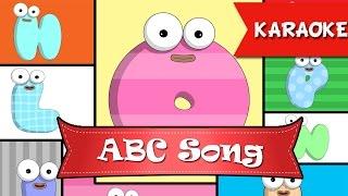 ABC Alphabet song [KARAOKE] | Nhạc thiếu nhi hay, học tiếng Anh qua bài hát