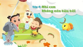 image Khỉ Con Không Nên Bừa Bãi | Truyện Kể Bé Nghe | Tập 4 | Baby monkey should not be messy