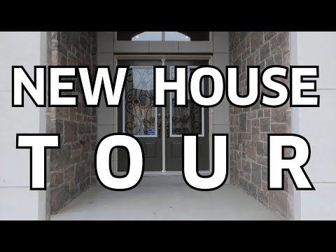 New House Tour   Empty House Tour   Our Dream Home