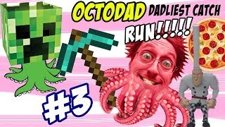 OctoDad: Dadliest Catch Part 3 - Minecraft & Ketchup Glue? CHEF RUN! (PC Face Cam Commentary)