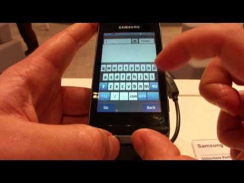 Samsung Wave 723 GT-S7320E bada