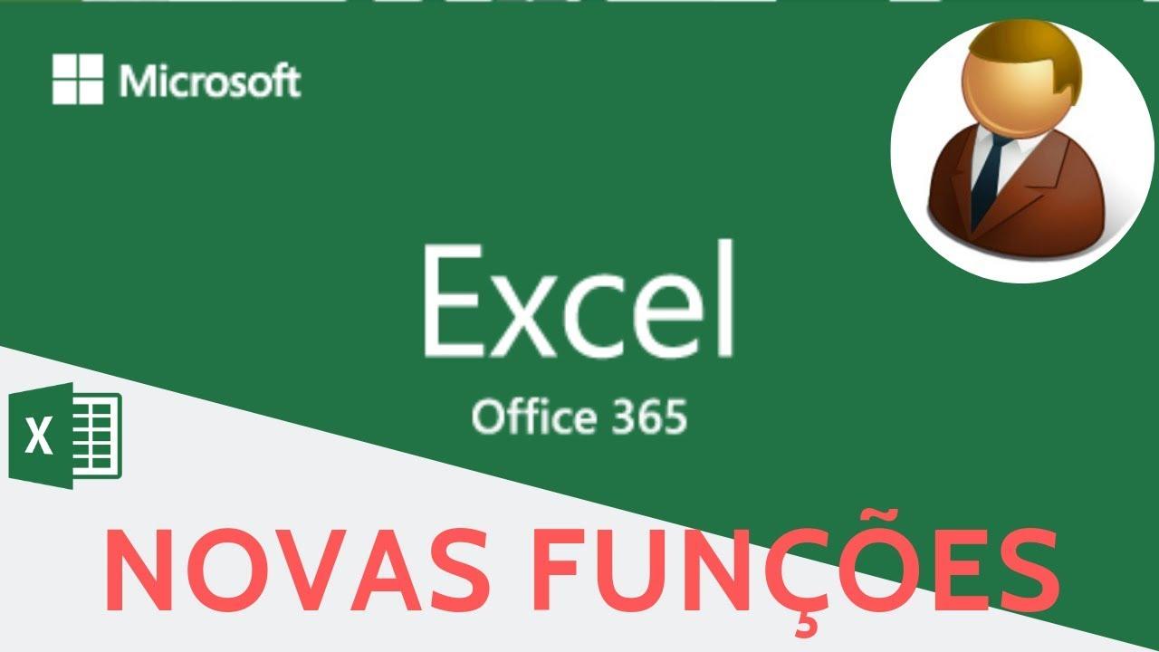 Excel   Novidades   Novas Funções