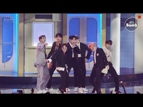 [BANGTAN BOMB] '작은 것들을 위한 시 (Boy With Luv)' Stage CAM @ BBMAs 2019 - BTS (방탄소년단)