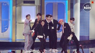 Cover images [BANGTAN BOMB] '작은 것들을 위한 시 (Boy With Luv)' Stage CAM @ BBMAs 2019 - BTS (방탄소년단)